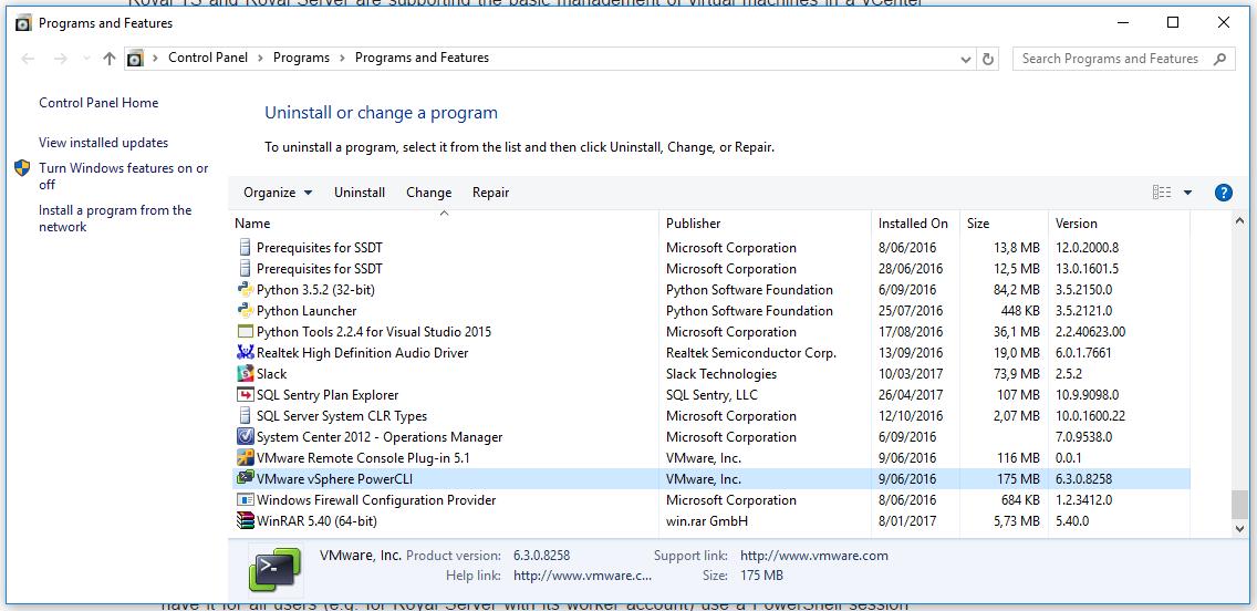 VMWare Power CLI in the Gallery | The Power DBA